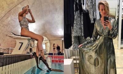 Federica pellegrini pinne fashion for Pinne x piscina