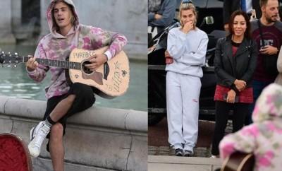 Justin Bieber serenata amore