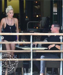 Lady Gaga e Dan Horton