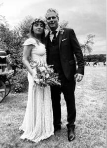 Camila Raznovich e Loic Fleury