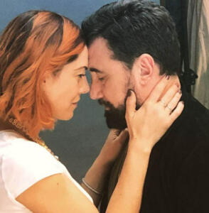 Federico Zampaglione e Giglia Marra