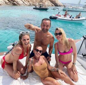 Michelle Hunziker, Ilary Blasi, Nicola Savino