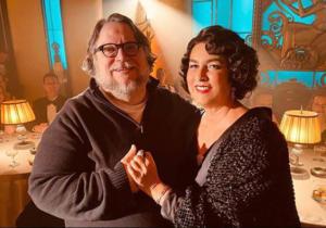 Romina Power e Guillermo Del Toro