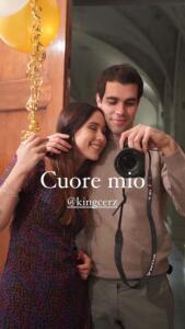 Aurora Ramazzotti e Goffredo Cerza