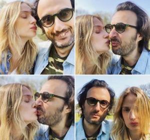 Eva Riccobono e Matteo Ceccarini