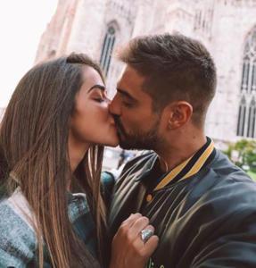 Fabio Colloricchio e Violeta Mangrinan