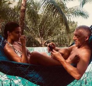 Vincent Cassel e Tina Kunakey