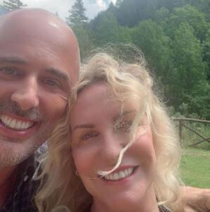 Antonella Clerici e Vittorio Garrone