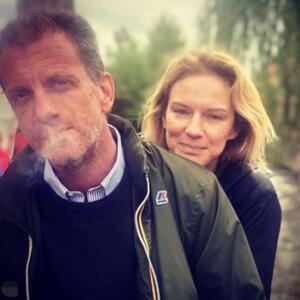 Antonia Liskova e Gabriele Guidi