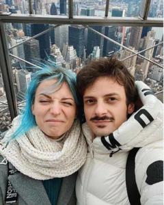 Fabio Rovazzi e Karen Kokeshi
