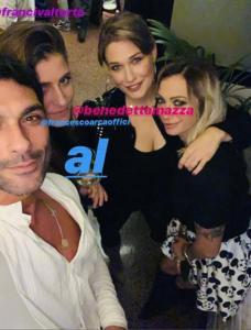 Francesco Arca, Irene Capuano, Benedetta Mazza e Francesca Valtorta