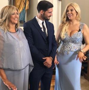 Imma, Moreno Merlo e Paola Caruso