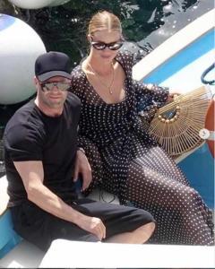 Jason Statham e Rosie Huntington Whitheley