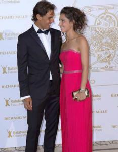 Rafael Nadal e Maria Francisca Perello