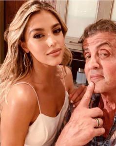 Sylvester Stallone e Sistine Stallone