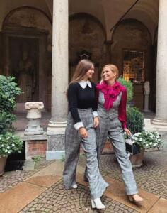 Filippa Lagerback e Stella Bossari