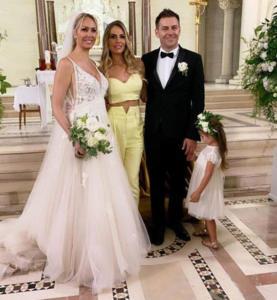 Ilary Blasi e gli sposi