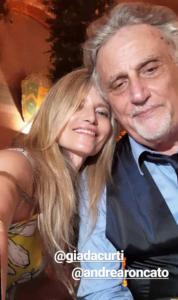 Andea Roncato e Nicole Moscariello