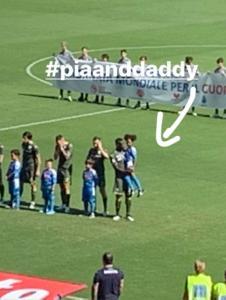 Mario Balotelli e Pia