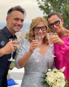 Nek, Nicoletta Mantovani e Patrizia Vacondio