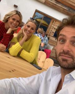 Serena Autieri, Michelle Hunziker, Tomaso Trussardi