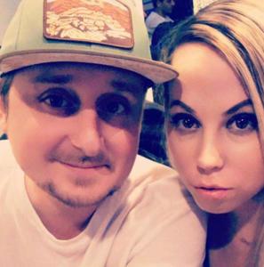 Stefano Bonolis e Candice Hansen