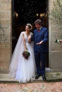 Nicoletta Romanoff e Federico Alverà