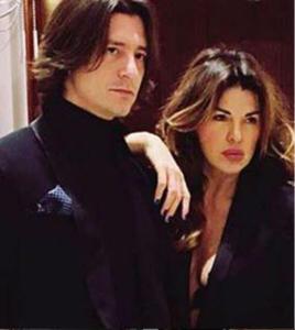 Alba Parietti e Francesco Oppini