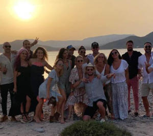 07 Chris Hemsworth, Elsa Pataky, Matt Damon e Luciana Barroso