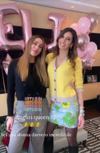 Elisabetta Gregoraci e Sonia Lorenzini