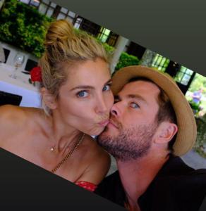 Chris Hemsworth e Elsa Pataky