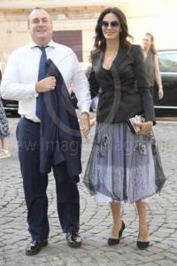Maria Grazia Cucinotta e Giulio Violati
