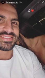 Guendalina Tavassi e Federico Perna