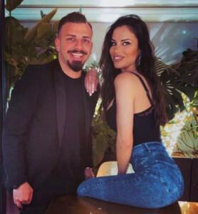 Antonella Mosetti e Mario Forte
