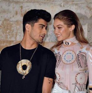 Gigi Hadid e Zayn Malik