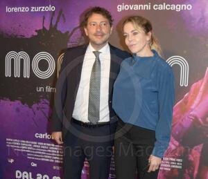 Claudia Gerini e Simon Clementi al Cinema