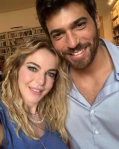 Claudia Gerini e Can Yaman